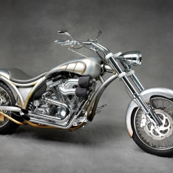 Motorcykel, kund Swedish Style Custom.